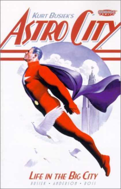 Bestselling Comics (2006) - Astro City: Life in the Big City by Kurt Busiek - Doves - Cape - Clouds - Skyscraper - Kurt Busiek