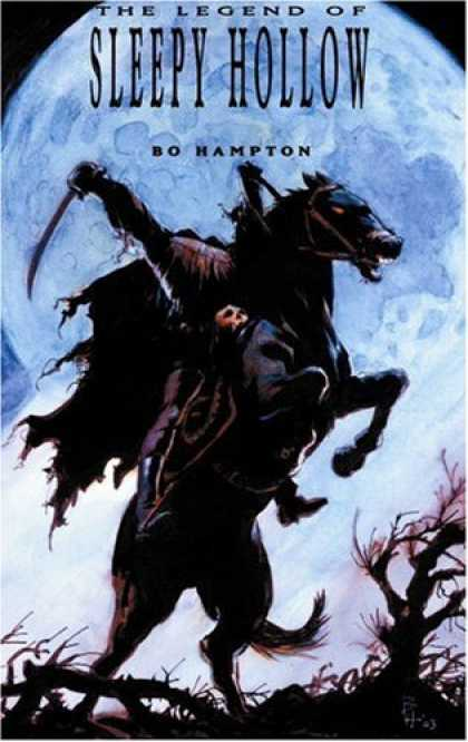 Bestselling Comics (2006) - The Legend Of Sleepy Hollow by Washington Irving - The Legend Of Sleepy Hollow - Bo Hampton - Horse - Sword - Headless Horseman