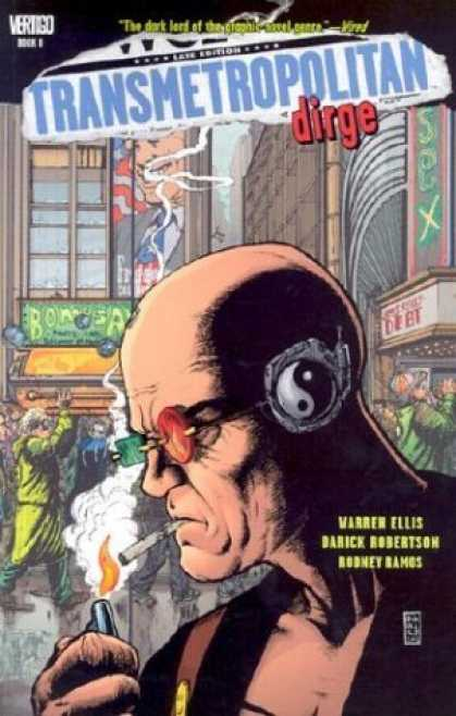 Bestselling Comics (2006) - Transmetropolitan Vol. 8: Dirge by Warren Ellis