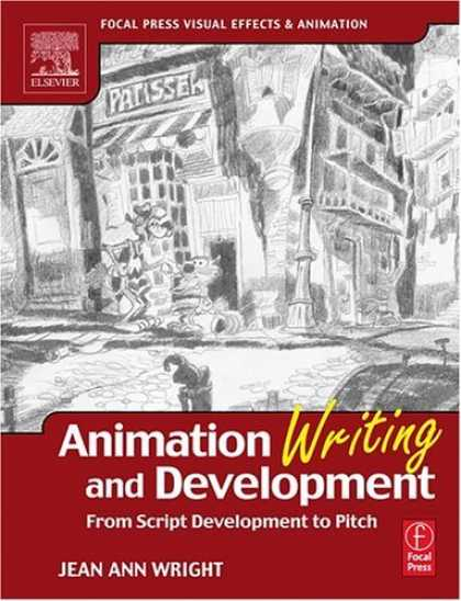 Bestselling Comics (2006) - Animation Writing and Development, : From Script Development to Pitch (Focal Pre - Street - Two Dogs - Drawing - Black N White - Wright