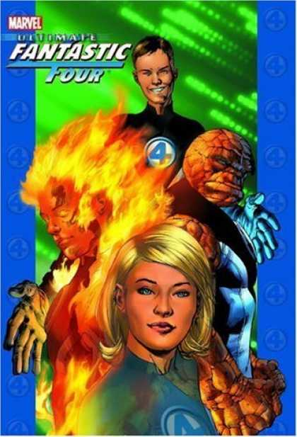Bestselling Comics (2006) - Ultimate Fantastic Four, Vol. 1 by Brian Michael Bendis - Man - Stand - Lady - Woman - Girl