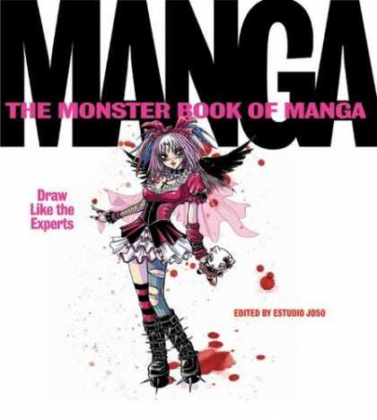 Bestselling Comics (2006) - The Monster Book of Manga: Draw Like the Experts by Estudio Joso - Loli Girl - Draw - Experts - Striped Sock - Blood Spot