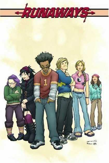Bestselling Comics (2006) - Runaways, Vol. 1 by Brian K Vaughan