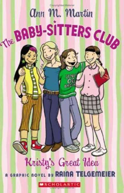 The Baby-Sitters Club: Kristy's Great Idea by Ann Ma.