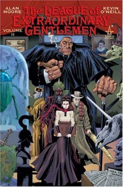 Bestselling Comics (2006) - The League of Extraordinary Gentlemen, Vol. 2 by Alan Moore - Keven Oneill - Alan Moore - Voume Ii - Men Mars - Judgement