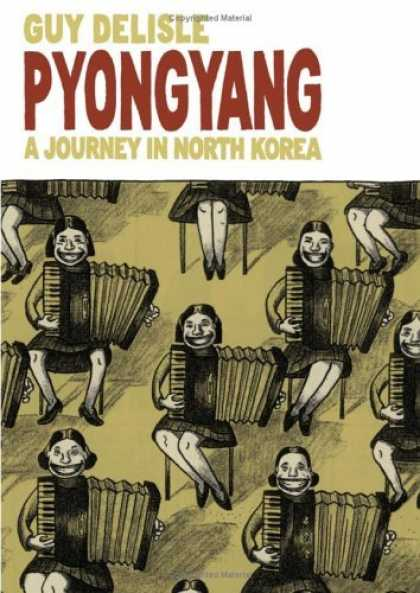 Bestselling Comics (2006) - Pyongyang: A Journey in North Korea by Guy Delisle