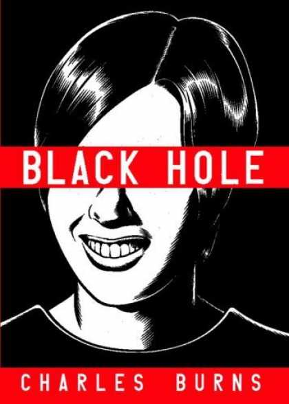 Bestselling Comics (2006) - Black Hole by Charles Burns - Black Hole - Charles Burns - Teeth - Black Hair - Nose
