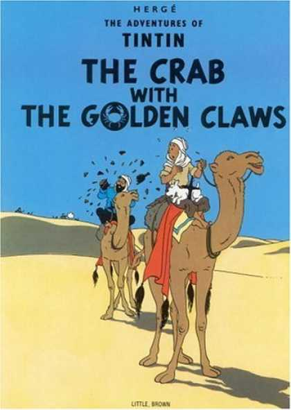 Bestselling Comics (2006) - The Crab with the Golden Claws (The Adventures of Tintin) by Herge - Tintin - Tin Tin - Golden Claws - Desert - Camels