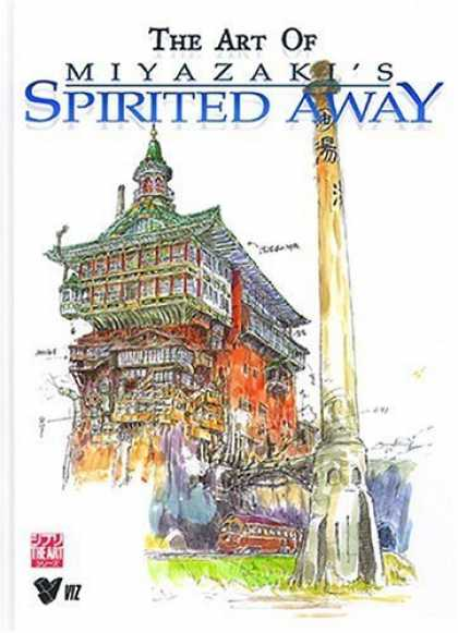 Bestselling Comics (2006) - The Art of Spirited Away - The Art Of Miyazai - Spirited Away - Building - China - Tower