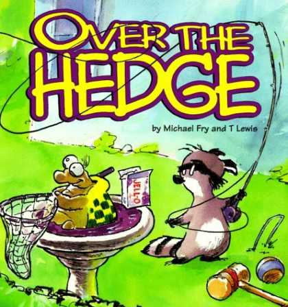Bestselling Comics (2006) - Over The Hedge (Over the Hedge (Andrews McMeel)) by Michael Fry - Michael Fry - T Lewis - Hedgehog - Turtle - Net
