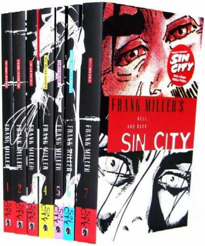 Bestselling Comics (2006) 127 - Sin City - Morose Man - Moarning Eyes - Sexy Girl - Dark Night