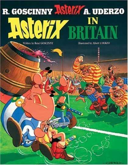Bestselling Comics (2006) - Asterix in Britain (Asterix) by Rene Goscinny - Asterix - Britain - A Uderzo - R Goscinny - Rugby