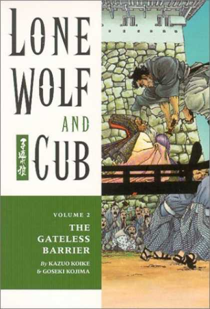 Bestselling Comics (2006) - Lone Wolf and Cub 2: The Gateless Barrier by Kazuo Koike - Lone Wolf And Cub - The Gateless Barrier - Volume 2 - Kazuo Koike - Goseki Kojima