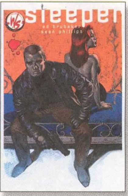 Bestselling Comics (2006) - Sleeper Vol. 1: Out in the Cold by Ed Brubaker