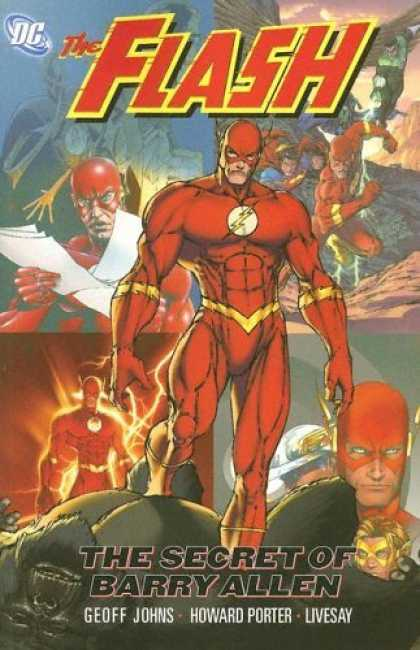 Bestselling Comics (2006) - Flash: The Secret of Barry Allen by Geoff Johns - Dc - The Flash - Super-hero - Barry Allen - Geoff Johns