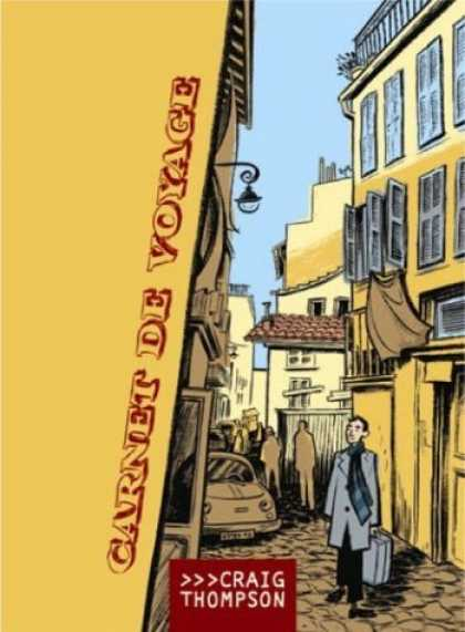 Bestselling Comics (2006) - Carnet De Voyage (Travel Journal) by Craig Thompson