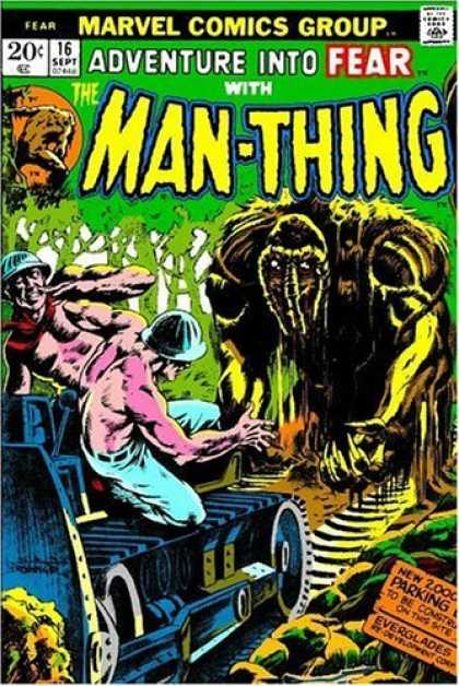 Bestselling Comics (2006) - Essential Man-Thing, Vol. 1 (Marvel Essentials) by Roy Thomas - Approved By The Comics Code Authority - Marvel Comics Group - Fear - Adventure - Man-thing