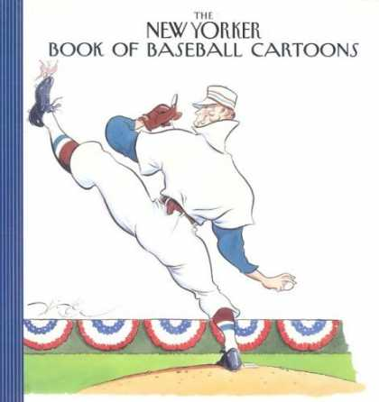 Bestselling Comics (2006) - The New Yorker Book of Baseball Cartoons - Book Of Baseball Cartoons - Black Shoe - Baseball In Right Hand - White Cap - Stout Man