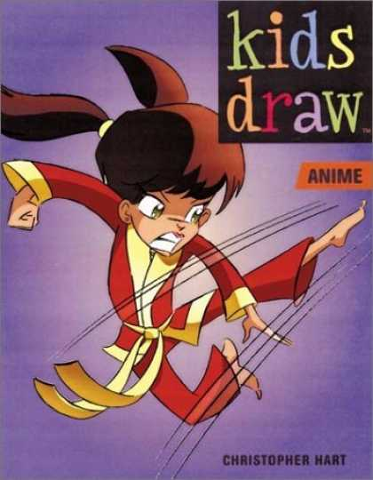 Bestselling Comics (2006) - Kids Draw Anime (Kids Draw Series) by Christopher Hart - Kids Draw - Anime - Ninja - Girl - Christopher Hart