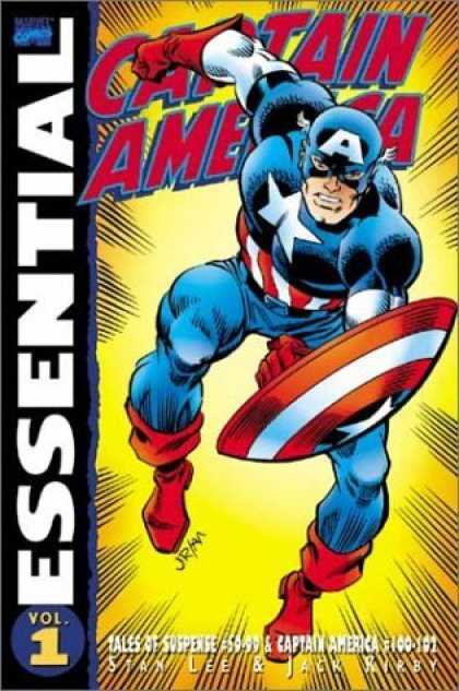 Bestselling Comics (2006) - Essential Captain America, Vol. 1 (Marvel Essentials) by Stan Lee