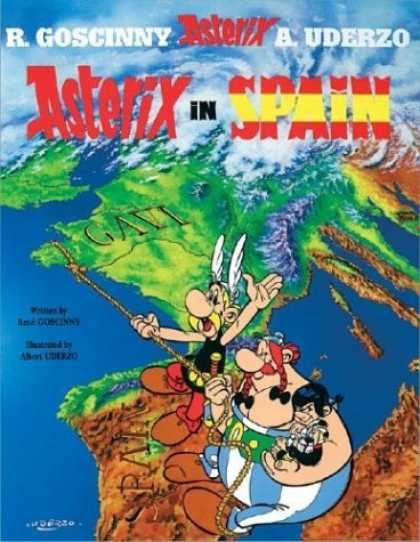 Bestselling Comics (2006) - Asterix in Spain (Asterix) by Rene Goscinny - R Goscinny - Asterix - A Uderzo - Spain - Map