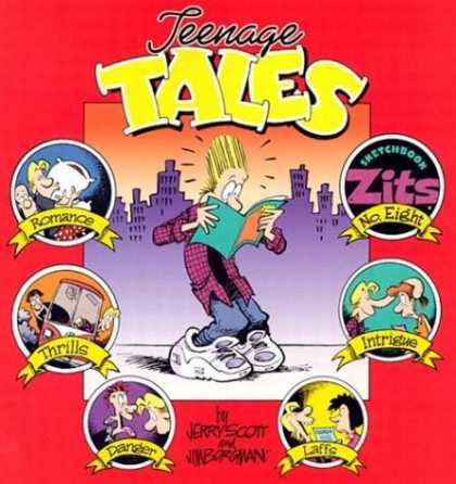 Bestselling Comics (2006) - Teenage Tales: Zits Sketchbook #8 (Zits Sketchbooks (Paperback)) by Jim Borgman