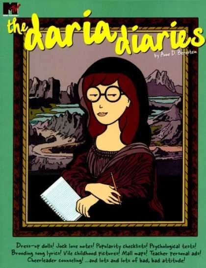 Bestselling Comics (2006) - Daria Diaries by Anne Bernstein - Daria - Diary - Notepad - Pencil - Mtv