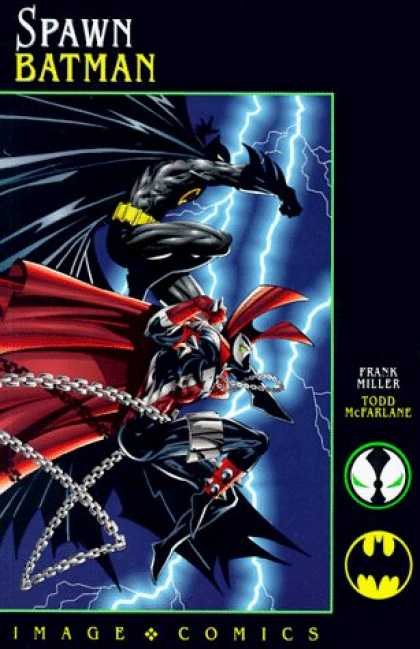 Bestselling Comics (2006) - Spawn: Batman by Frank Miller - Spawn - Frank Miller - Batman - Superhero - Todd Mcfarlane