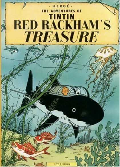 Bestselling Comics (2006) - Red Rackham's Treasure (The Adventures of Tintin) by Herge