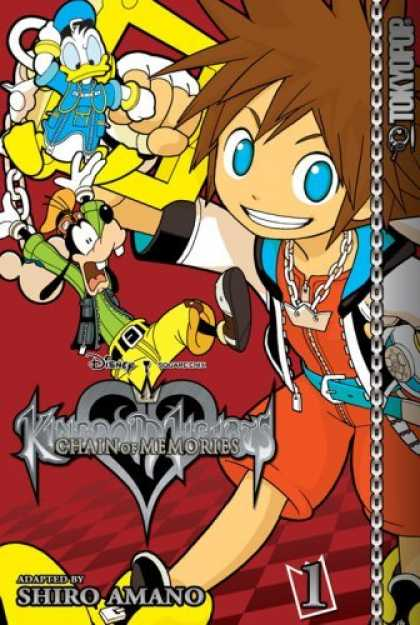 Bestselling Comics (2006) - Kingdom Hearts 1: Chain of Memories (Kingdom Hearts) by - Chain Of Memories - Donald Duck - Goofy - Anime - Shiro Amano