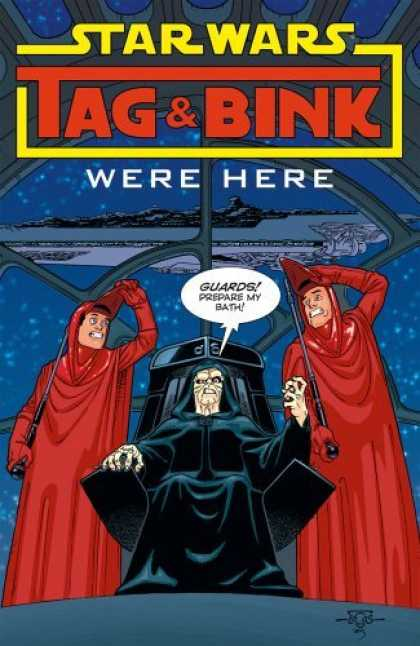 Bestselling Comics (2006) - Star Wars: Tag & Bink Were Here by Kevin Rubio - Mountain - Cloud - Devil Man - Chair - 2 Bodygot
