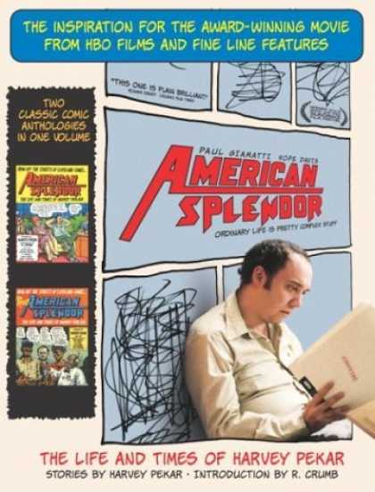 Bestselling Comics (2006) - American Splendor: The Life and Times of Harvey Pekar by Harvey Pekar - Slice Of Life - Harvey Pekar - Graphic Novel - Movie Tie-in - Crumb