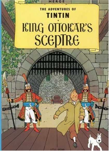 Bestselling Comics (2006) - King Ottokar's Sceptre (The Adventures of Tintin) by Herge - King Ottokars Sceptre - Castle - Gate - Tree - Dog