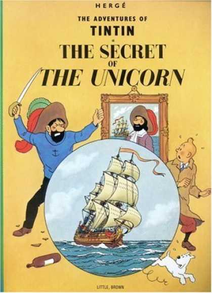 Bestselling Comics (2006) - The Secret of the Unicorn (The Adventures of Tintin) by Herge - Tintin - Herge - Adventures - The Secret Of Unicorn - Ship