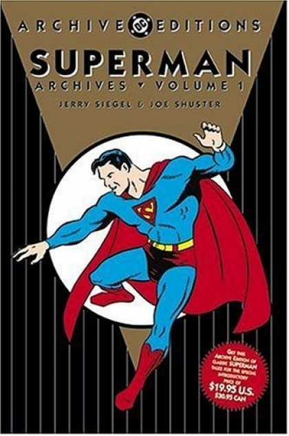 Bestselling Comics (2006) - Superman Archives, Volume 1 (DC Archive Editions) by Jerry Siegel