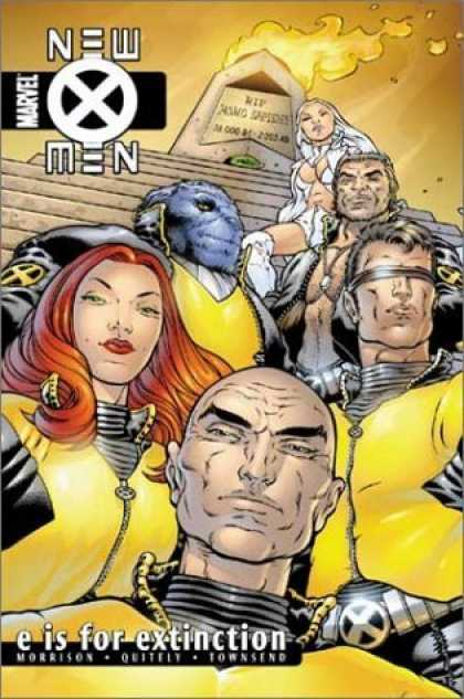 Bestselling Comics (2006) - New X-Men Vol. 1: E is for Extinction by Grant Morrison