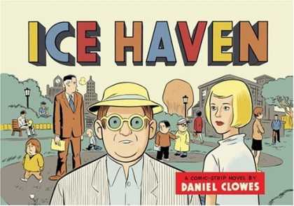 Bestselling Comics (2006) - Ice Haven by Daniel Clowes - Daniel Clowes - Crowd - Park - Greenery - Gaze
