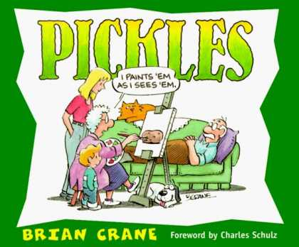 Bestselling Comics (2006) - Pickles by Brian Crane - Man On Couch - Painting - Potatoe - Eisal - Dog