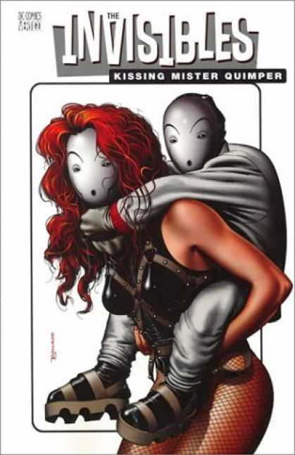 Bestselling Comics (2006) - Kissing Mister Quimper (The Invisibles, Book 6) by Grant Morrison - Invisibles - Kissing Mister Quimper - Woman - Dc Comics - Shoes