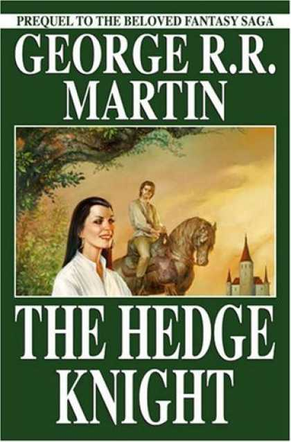 Bestselling Comics (2006) - The Hedge Knight - Second Edition [Graphic Novel] by George R. R. Martin - Book - Lady - Horse - Prince - Castle