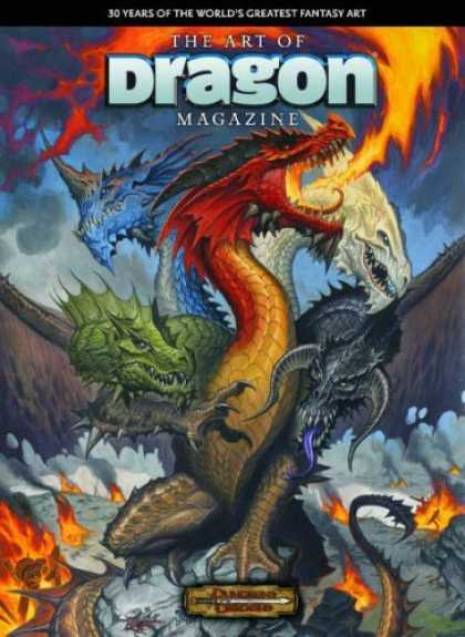 Bestselling Comics (2006) - The Art Of Dragon Magazine by Larry Elmore