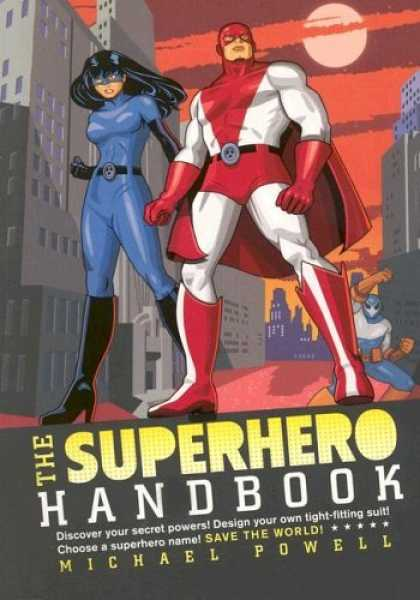 Bestselling Comics (2006) - The Superhero Handbook by Michael Powell - City - Michael Powell - Superhero Handbook - Red Cape - Discover Your Secret Powers