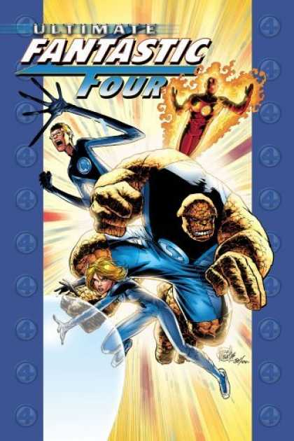 Bestselling Comics (2006) - Ultimate Fantastic Four Vol. 3: N-Zone by Warren Ellis - Flame On - Thing - Super Heros - Quadruple Powers - Stretch Armstrong