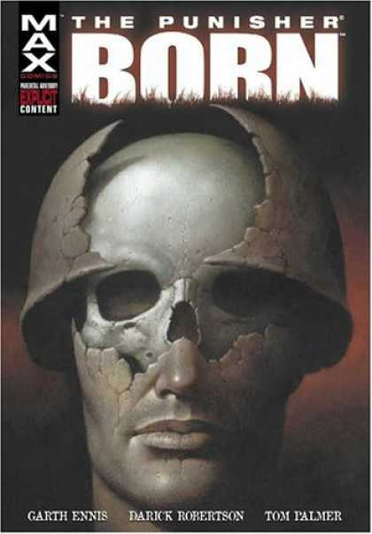 Bestselling Comics (2006) - Punisher: Born by Garth Ennis - Skull - Face - Helmet - Explicit Content - Lips