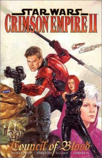 Bestselling Comics (2006) - Star Wars-Crimson Empire: Council of Blood, Volume 2 by Mike Richardson
