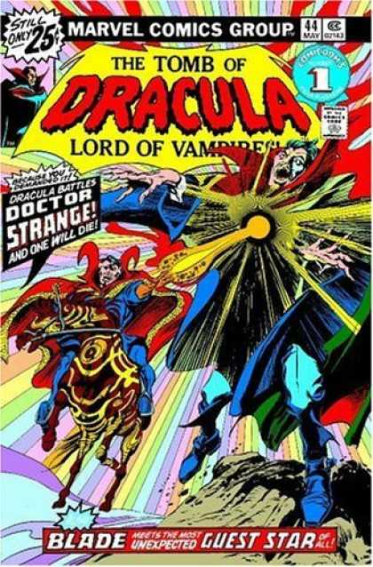 Bestselling Comics (2006) - Dr. Strange Vs. Dracula: The Montesi Formula TPB by Marv Wolfman - Marvel Comics Group No44 - The Tomb Of Dracula - Doctor Strange - Lord Of Vampires - Blade