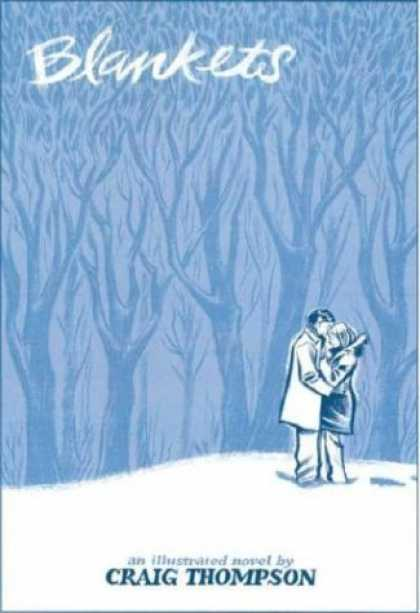 Bestselling Comics (2006) - Blankets by Craig Thompson - Forest - Blankets - Trees - Craig Thompson - Kiss