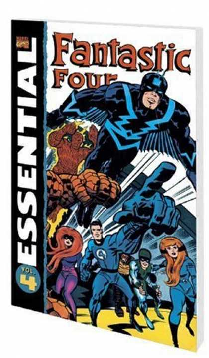 Bestselling Comics (2006) - Essential Fantastic Four, Vol. 4 (Marvel Essentials) by Stan Lee