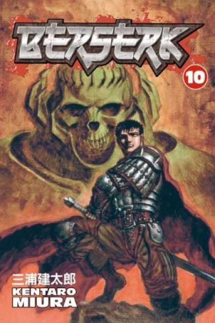 Bestselling Comics (2006) - Berserk Volume 10 (Berserk (Graphic Novels)) by Kentaro Miura - Skeleton - Armour - Kentaro - Miura - Ten