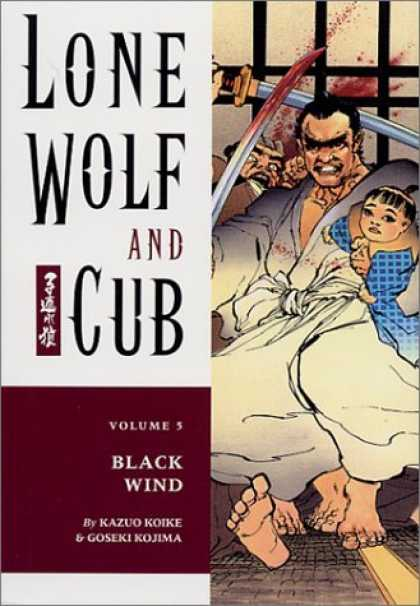 Bestselling Comics (2006) - Lone Wolf and Cub 5: Black Wind by Kazuo Koike